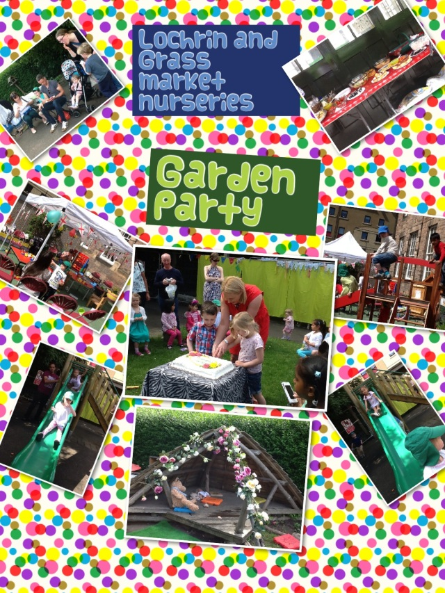 A Wonderful Garden Party at Lochrin and Grassmarket Nurseries!