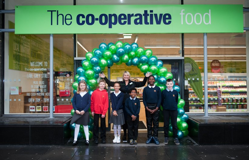 CO OPERATIVE FOOD EARL GREY STREET OPENING